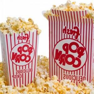 Ingrediënten popcorn