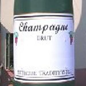 Attractieverhuur-champagnefles